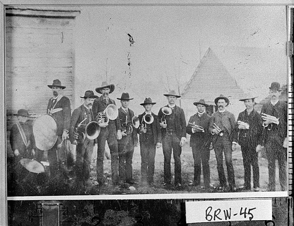 the first band in Jug Tavern, Georgia